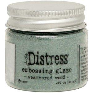 Tim Holtz Distress Embossing Glaze Weathered Wood