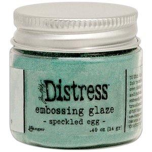 Tim Holtz Distress Embossing Glaze Speckled Egg