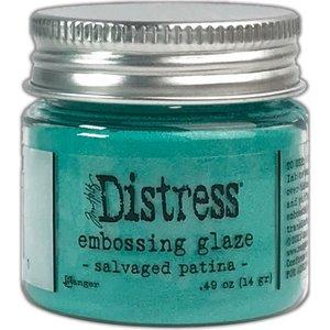 Tim Holtz Distress Embossing Glaze Salvaged Patina