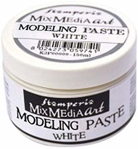 Pasta de modelar Stampería Modeling Paste White