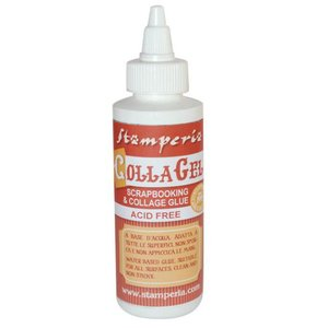 Adhesivo en gel transparente Stampería CollaGel 118 ml