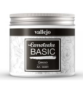 Gesso 200 ml CarrotCake by Vallejo