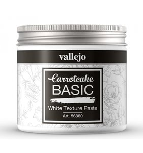 Pasta de textura blanca 200 ml CarrotCake by Vallejo