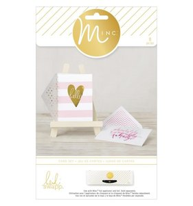 Set Tarjetas Hello Stripes MINC