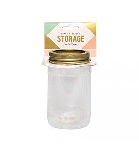 Mason jar CP Storage