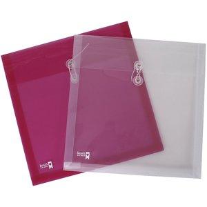 Pack 4 sobres de plástico para papeles de scrap