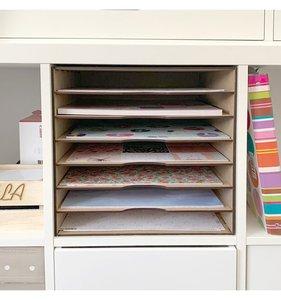 """Mueble para papeles 12""""x12"""" para estantería IKEA KALLAX"""