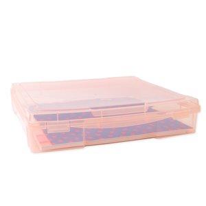 "Caja para papeles 12""x12"" Kimidori Colors Rosa"