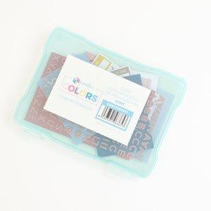 """Caja de plástico Kimidori Colors 5""""x7"""" Mint"""