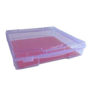 "Caja para papeles 12""x12"" Kimidori Colors Lila"