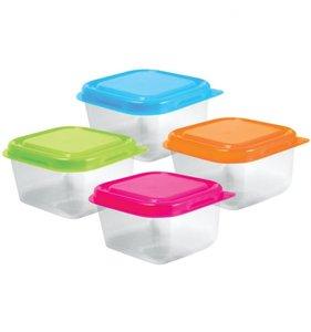 Set de 4 mini containers