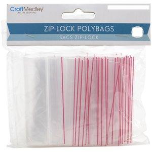 Bolsas para almacenar Ziplock 30 pcs 10,2 x 15,2 cm