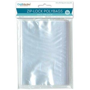 Bolsas para almacenar Ziplock 15 pcs 15,2 x 20,3 cm