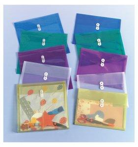 """Sobre plástico expandible para papeles 12x12"""""""