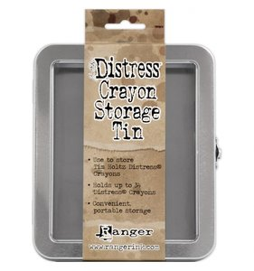 Caja metálica para Crayons Distress