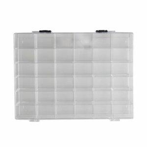 Caja organizadora 36 compartimentos