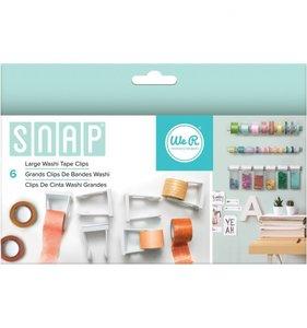 Sistema SNAP Clips grandes para rollos de washi