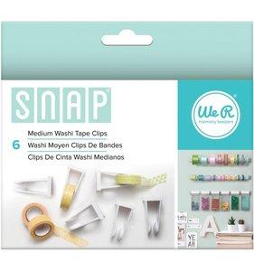 Sistema SNAP Clips medianos para rollos de washi