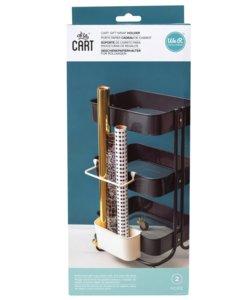 Bandeja y soporte para objetos largos para carrito organizador