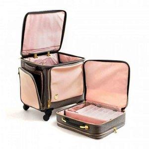 WR Set maleta y maletín Pink Crafters