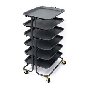 Carro almacenamiento We R 6 bandejas extraibles