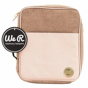 We R Carry Pouch Taupe and Pink
