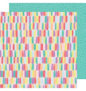 "Papel 12""x12"" Stay Sweet Color Pop Paradise"