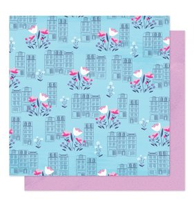 """Papel 12""""x12"""" Sparkle City Spring In The City"""