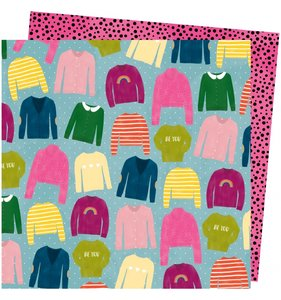 "Papel 12""x12"" Slice of Life Knit Wit"