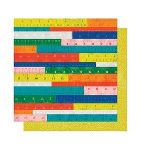 "Papel 12""x12"" Field Trip Measure Up"