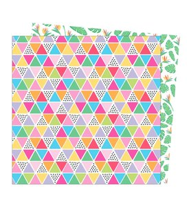 """Papel 12""""x12"""" Wild Card Tropical Vibes"""