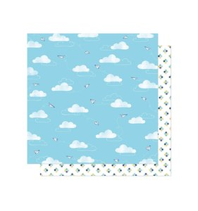 "Papel 12""x12"" She's Magic Air Mail"