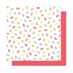 """Papel 12""""x12"""" Dear Lizzy Here and Now Candy Girl"""