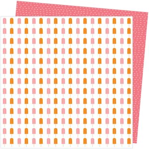 """Papel 12""""x12"""" Amy Tangerine Picnic in the park Sweet Treat"""