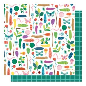"""Papel 12""""x12"""" Shimelle Never Grow Up Summer Adventures"""