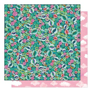 """Papel 12""""x12"""" Shimelle Never Grow Up Let's Play"""