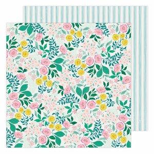 """Papel 12x12"""" Garden Party de Maggie Holmes Wild Flower"""