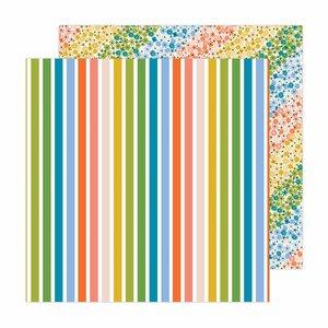 """Papel 12x12"""" Reaching Out de Jen Hadfield Rainbow Skies"""