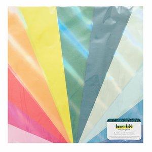 Papel con foil iridiscente Brave + Bold de Amy Tangerine