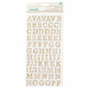 Alfabeto de chipboard StoryTeller de Vicky Boutin