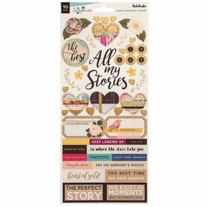 """Pegatinas con foil 6x12"""" StoryTeller de Vicky Boutin"""
