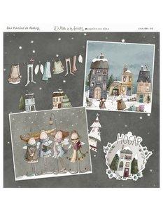Papel El Altillo de los Duendes Una Navidad de Abrazos 9