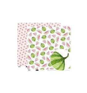 Papel 12x12 Watermelon