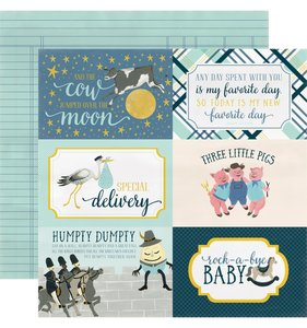 4x6 Cards Rock-a-bye Baby Blue
