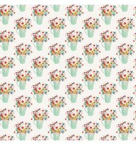 "Papel 12x12"" Col. Our House - Flower Pots"