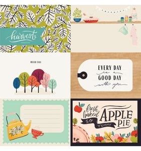 """Papel 12x12"""" Col. Our House - 4x6 Cards"""