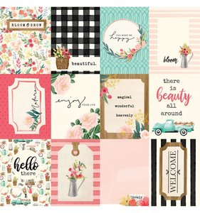 Flower Market 3x4 Cards