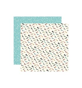 "Papel 12x12"" En Vogue High Heels"