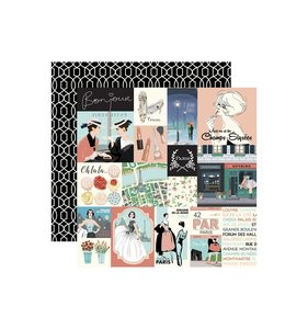 "Papel 12x12"" En Vogue Cards"