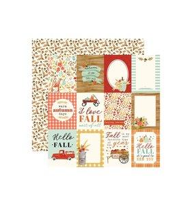 "Papel 12x12"" Fall Market 3x4 Journaling Cards"